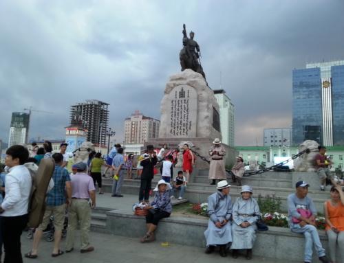 Två dagar i Ulaanbaatar