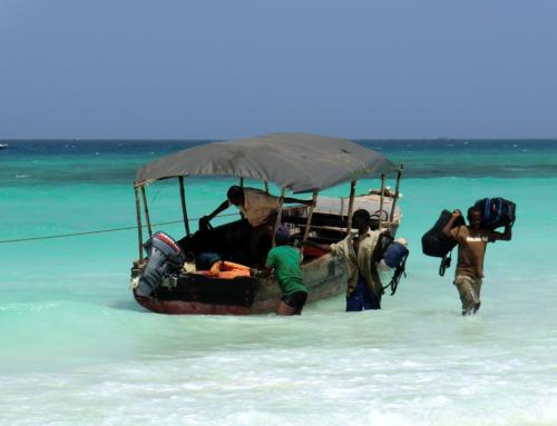Båtflykting på Indiska oceanen
