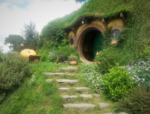 Hobbiton – på besök hos Bilbo