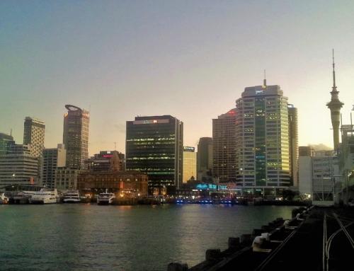 Auckland – avsked till Nya Zeeland