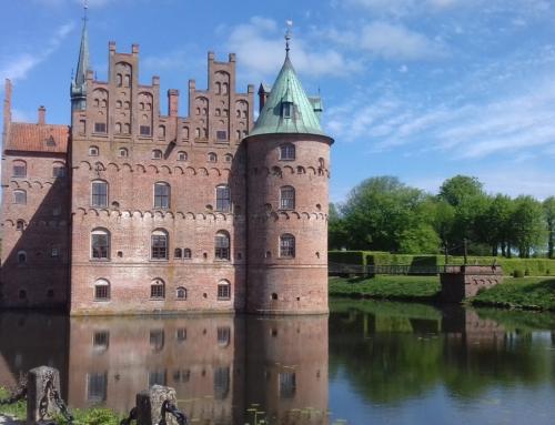 Egeskov slott på Fyn