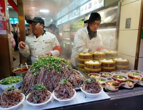 Wangfujing snack street – matgata i Beijing