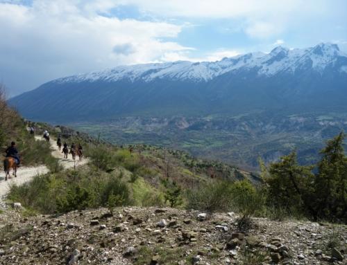 Till häst i Albanien – del 2