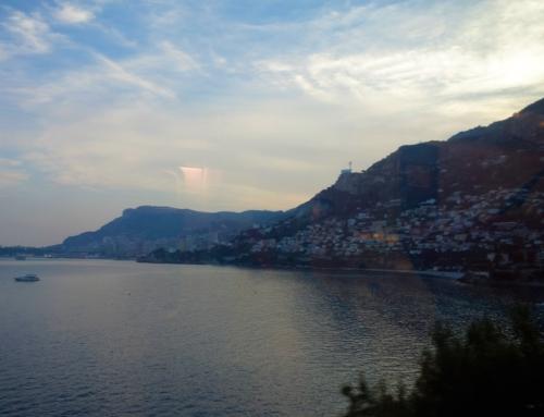 Côte d'Azur-tåget – utmed franska rivieran in i Italien