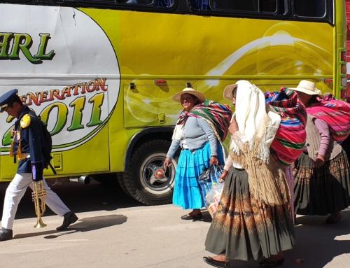 Från Peru till Bolivia – med buss över gränsen