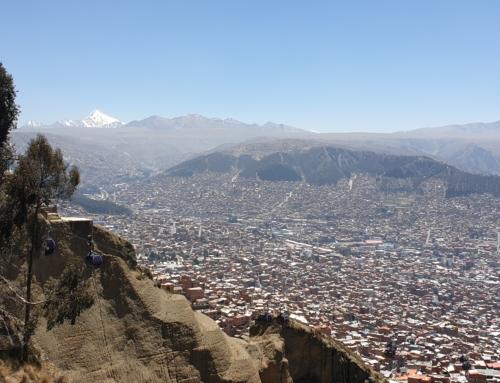 Lördag i La Paz – frukost och linbana