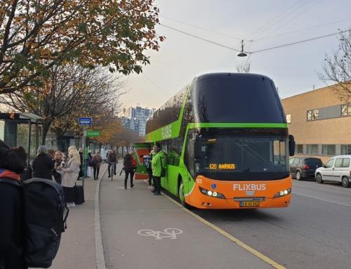 Att resa med Flixbus