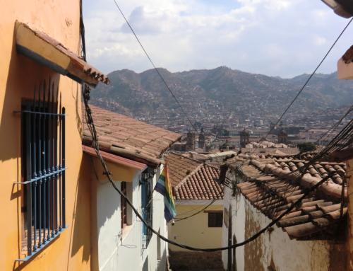 Nio bilder från Cusco