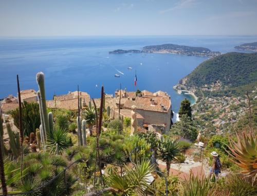 Èze Village- på toppen av Rivieran